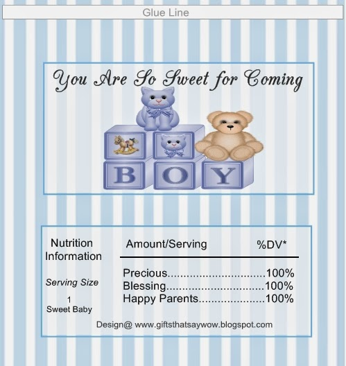 GIFTS THAT SAY WOW - Fun Crafts and Gift Ideas Free Baby Boy Shower