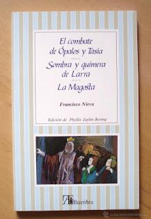 """""""Sombra y quimera de Larra"""" - Francisco Nieva"""