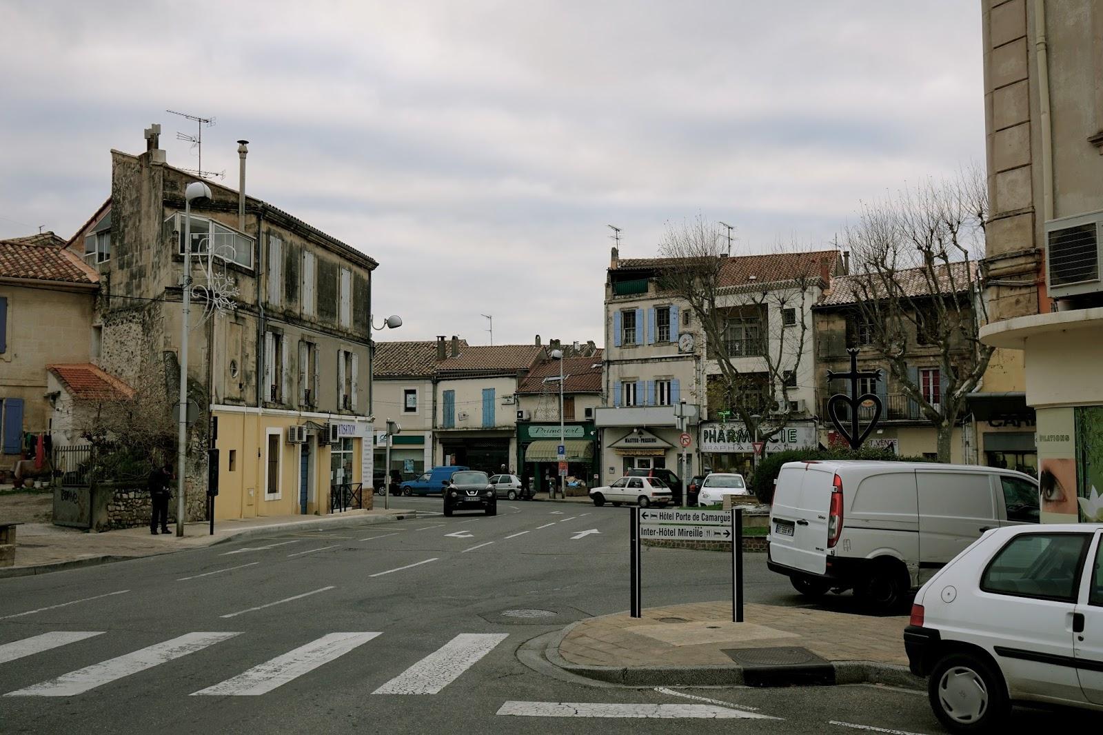 トランケテイユ橋(Le Pont de Trinquetaille)を渡った通り