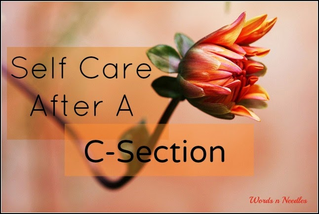 Self Care After A C-Section