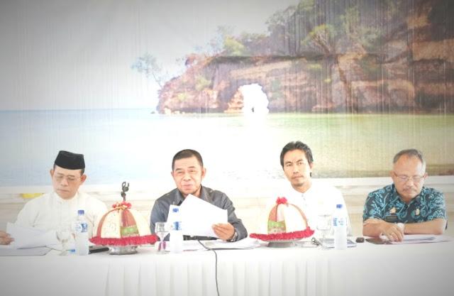 Wapub, Pimpin Rakor Persiapan, Verifikasi Nasional, Kabupaten Sehat