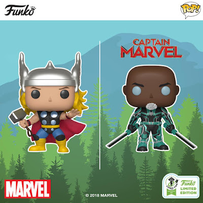Emerald City Comic Con 2019 Exclusive Marvel Pop! Vinyl Figures by Funko