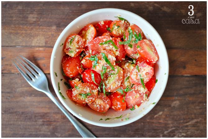 salada tomate doce receita