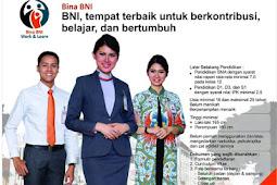 Lowongan Kerja PT Bank Negara Indonesia (Persero)