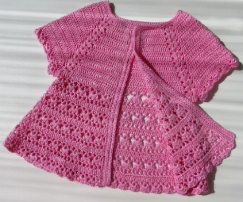 Beautiful Crochet Blouse - Free Pattern