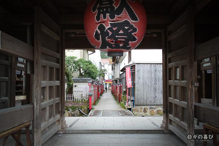 entrée du temple Dairen-ji