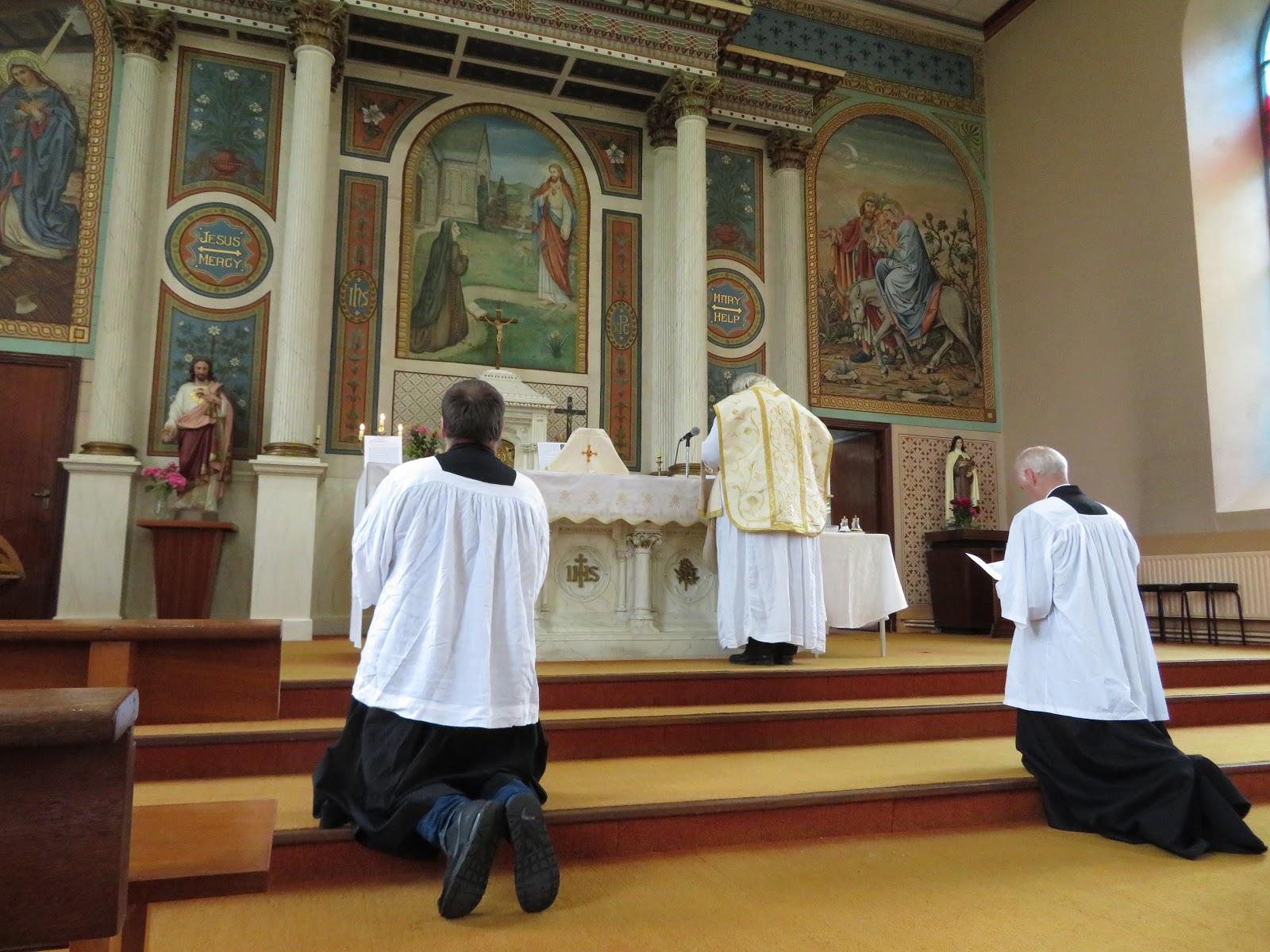 saint marys latin singles Multimedia tutorial with videos, photos, and audio of the tridentine latin mass according to the 1962 missale romanum (roman missal.