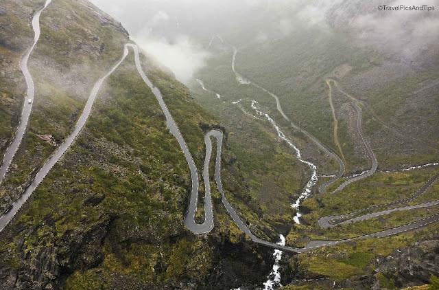 Route Trollstigen, Norvège du sud