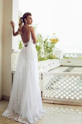 Vestidos de mujer para boda en la playa
