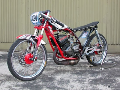 Gambar Motor Drag Bike dan Modifikasi Yamaha RX-Z
