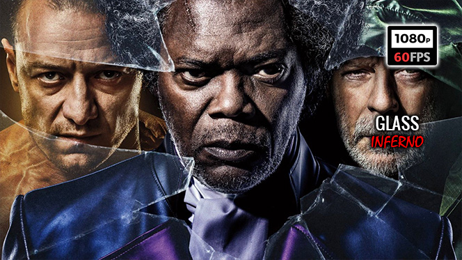 Glass (2019) BDRip 1080p 60fps Español Latino-Inglés