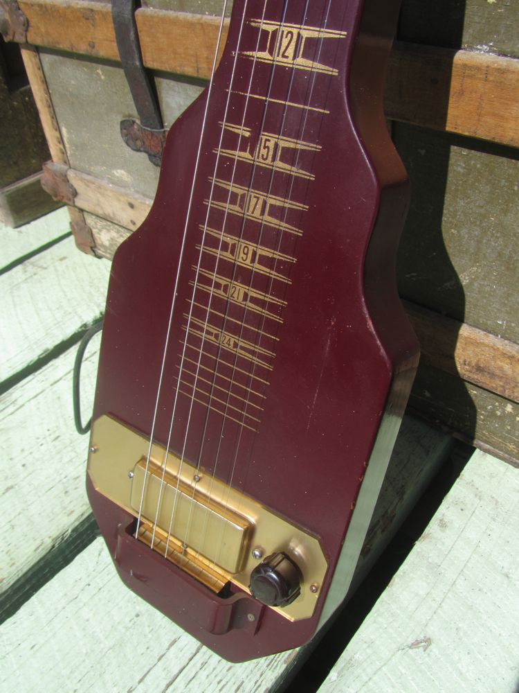 kalamazoo lap steel guitar. Black Bedroom Furniture Sets. Home Design Ideas