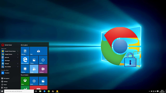 Windows 10 Along With Chrome Having Best Security Features
