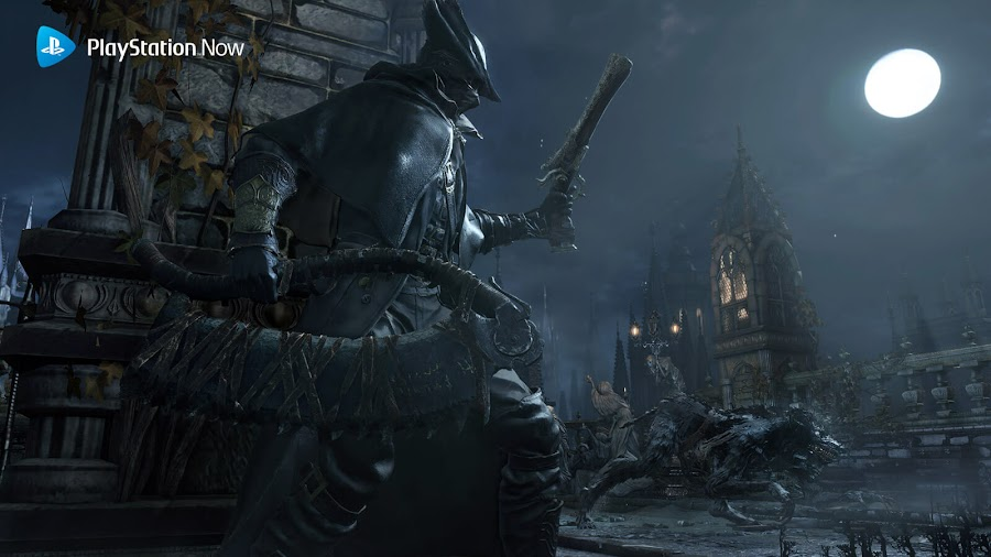 playstation now halloween ps4 bloodborne