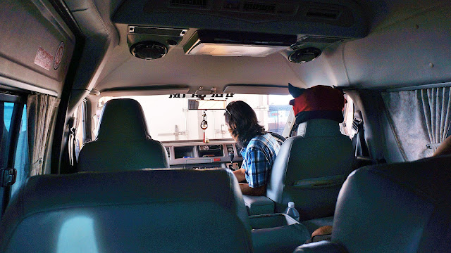 Изображение салона микроавтобуса на пароме