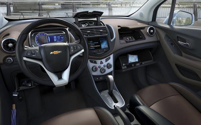 2018 Chevrolet Captiva Interior