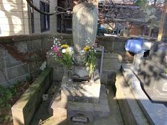 板割浅太郎の墓