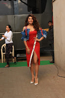 Jacqueline Fernandez Spicy Bollywood Actress in Red Dress Spicy  Exlcusive Gallery Pics (7).JPG