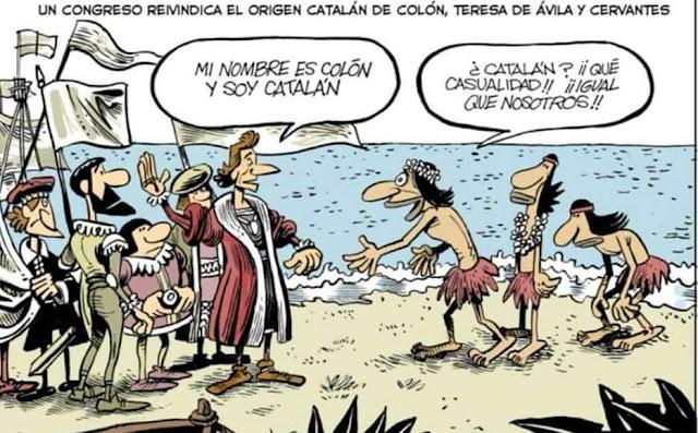 Origen catalán de Colón, Teresa de Ávila, Cervantes