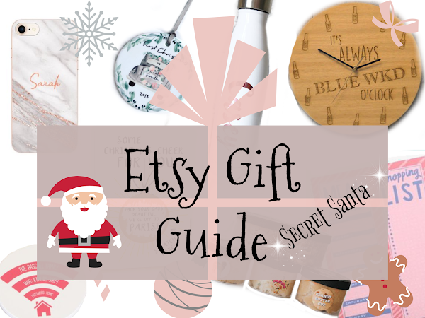 Etsy Gift Guide | Secret Santa