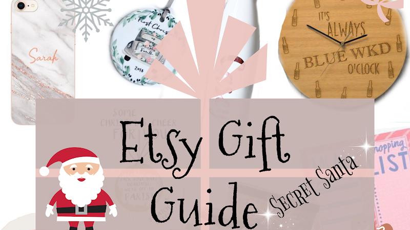 Etsy Gift Guide   Secret Santa