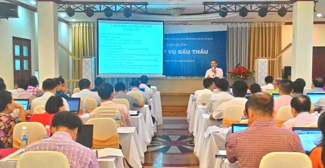 Khóa học đấu thầu | chứng chỉ bồi dưỡng nghiệp vụ đấu thầu tại Hà Nội, TPHCM