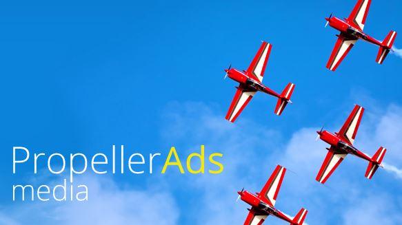 PropellerAds Red Lider del Sector Entretenimiento