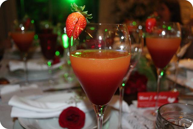 Drink do Amor : Decoração do Jantar Dia dos Namorados