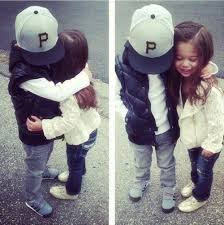 Top latest hd Baby Boy to Girl frist kiss images photos pic wallpaper free download 59