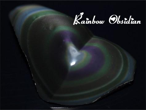 レインボーオブシディアン RAINBOW OBSIDIAN MEXICO