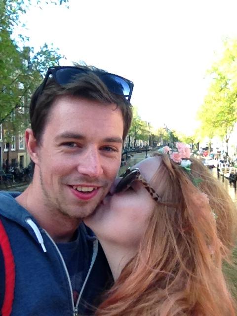 amsterdam kiss