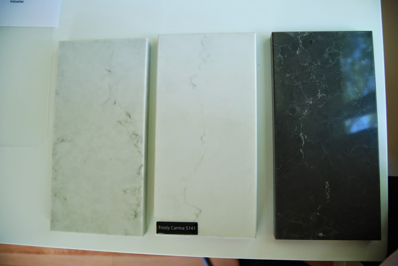 Ikea Abstrakt White Modern Kitchen Choosing The Countertop Two
