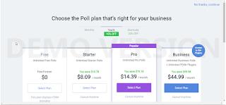 Membuat Widget Polling Atau Survey di Blogger