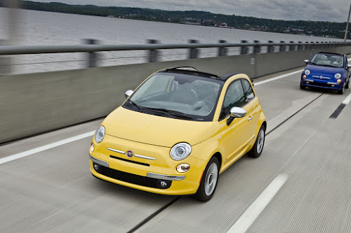 Fiat 500c Cabrio in New York