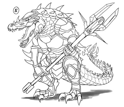 Overlords Gator Gladiator Concepts picture 1