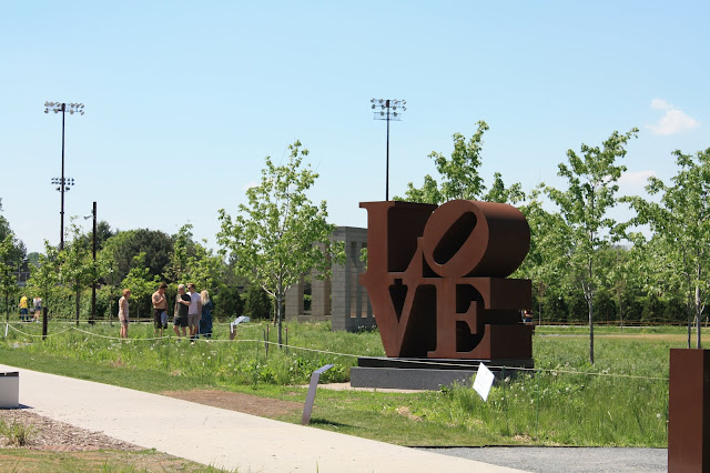 Love sculpture by Robert Indiana in Minneapolis