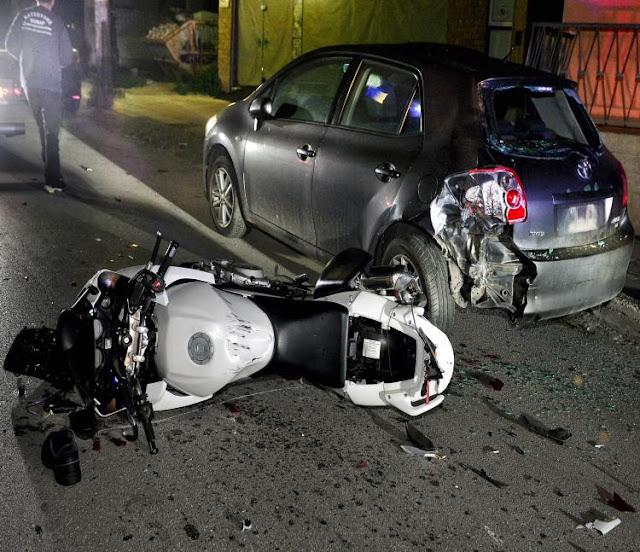 Τροχαίο δυστύχημα στην Κόρινθο με νεκρή 42χρονη