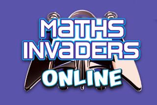 math invaders online logo