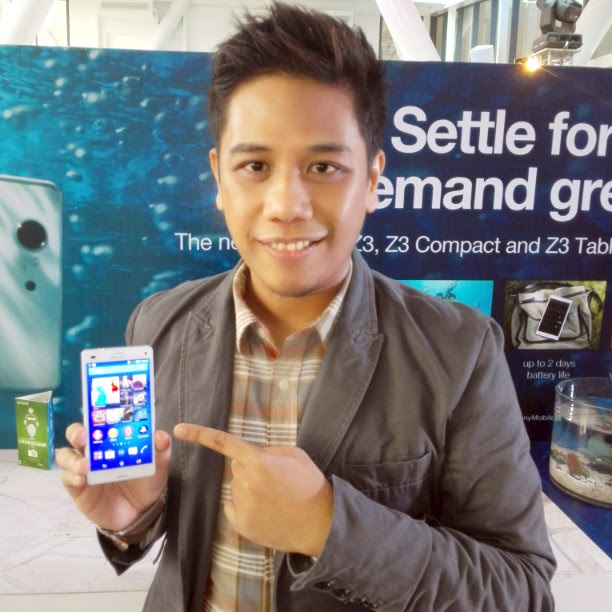 Sony Xperia Z3 Compact Philippines, Mark Milan Macanas