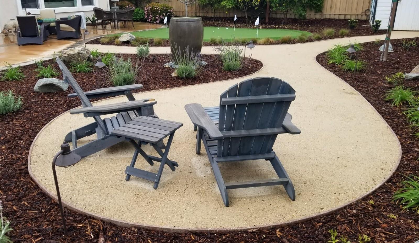 photo decomposed granite patio