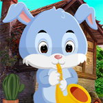 Play Games4King Naughty Rabbit Rescue