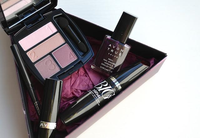 Avon Fall Makeup Look