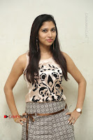 Actress Vanditha Stills in Short Dress at Kesava Movie Success Meet .COM 0074.JPG