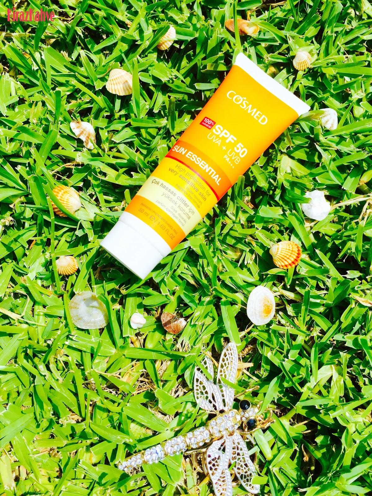 Cosmed Sun Essential Çok Hassas Ciltler İçin Güneş Koruyucu SPF 50