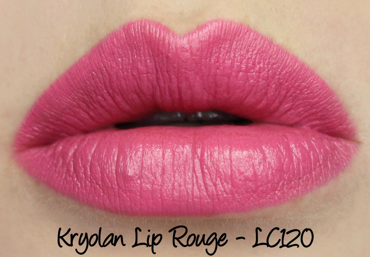 Kryolan Lip Rouge Classic Lipstick LC120 Swatches & Review