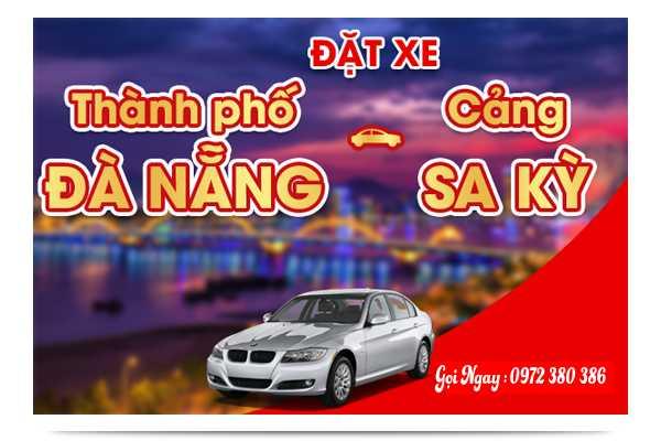 Xe khách di chuyển Đà Nẵng đến Cảng Sa Kỳ - Lý Sơn