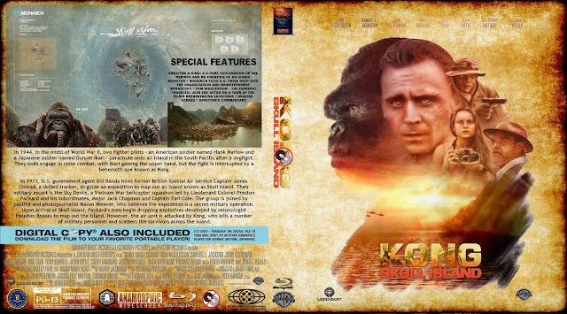 Kong Skull Island Bluray Cover