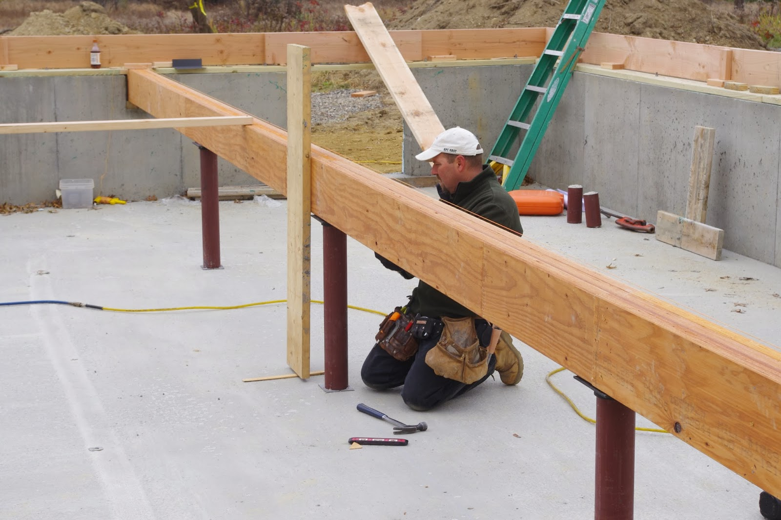 The new house next door structural primer for Structural floor joists