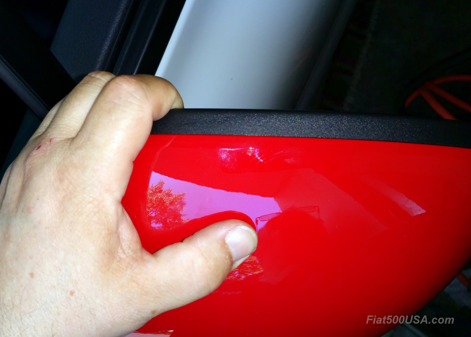 Fiat 500x Mirror Covers Install How To Fiat 500 Usa