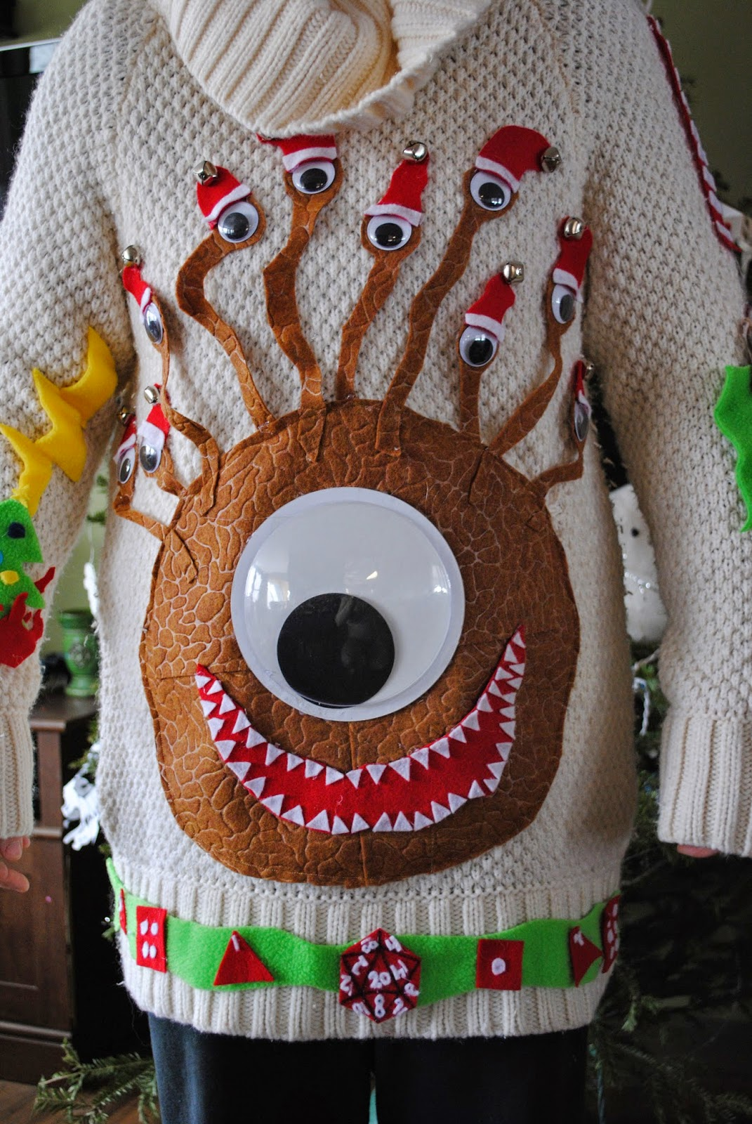 Ultanya Behold The Ugly Christmas Sweater